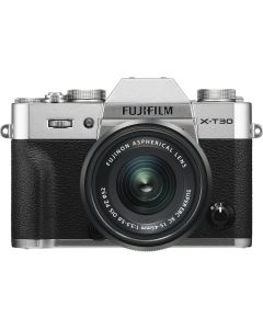 Fujifilm X-T30 Silver + XC15-45mm Kit EE