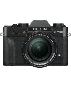 Fujifilm X-T30 Black + XF18-55mm Kit EE