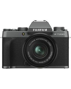 Fujifilm X-T200 Dark Silver / XC15-45mm F3.5-5.6 OIS PZ Kit