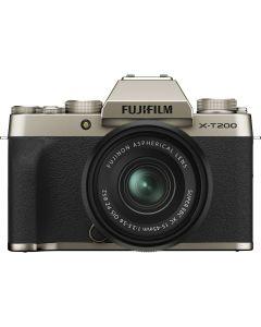 Fujifilm X-T200 Gold / XC15-45mm F3.5-5.6 OIS PZ Kit