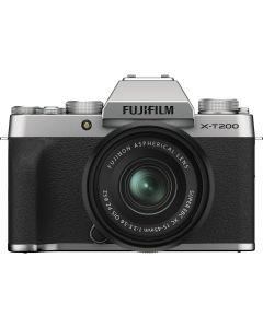 Fujifilm X-T200 Silver / XC15-45mm F3.5-5.6 OIS PZ Kit