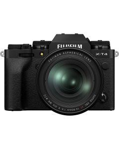 Fujifilm X-T4  Black + XF16-80mm F4 R OIS WR Kit