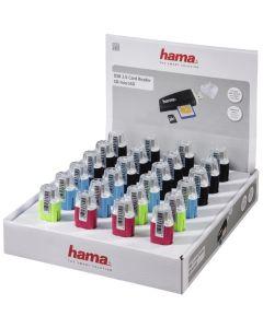 Hama USB-2.0-Card reader SD/MicroSD24 stuks in display