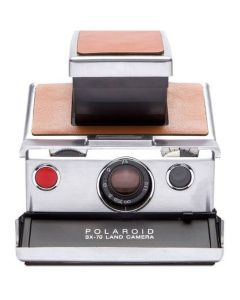 Polaroid Originals Refurbished SX70 camera - silver brown