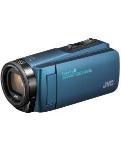 JVC GZ-R495AEU Blue w/ tas + SD card