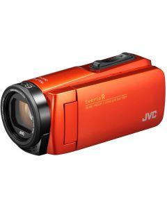 JVC GZ-R495DEU Orange w/ tas + SD card