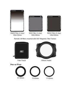 H&Y Filter Starterkit met Magnetisch Frame