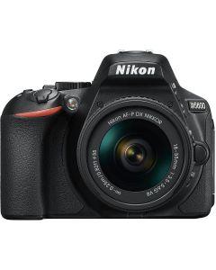 Nikon D5600 + AF-P 18-55 VR Black +16gb +bag CF-EU14